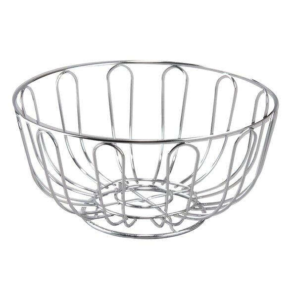 Round Bread Basket Fruit Bowl By Cuisinox.