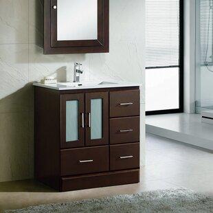 Top Reviews Rethman Modern 30 Single Bathroom Vanity Set ByLatitude Run