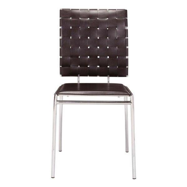 Oak Dining Chair (Set of 4) by Orren Ellis