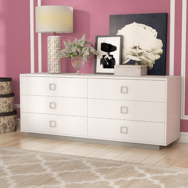 Jolicia Horizontal 6 Drawer Double Dresser by Willa Arlo Interiors