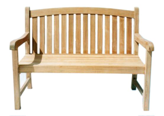 Captain Teak Garden Bench by D-Art Collection