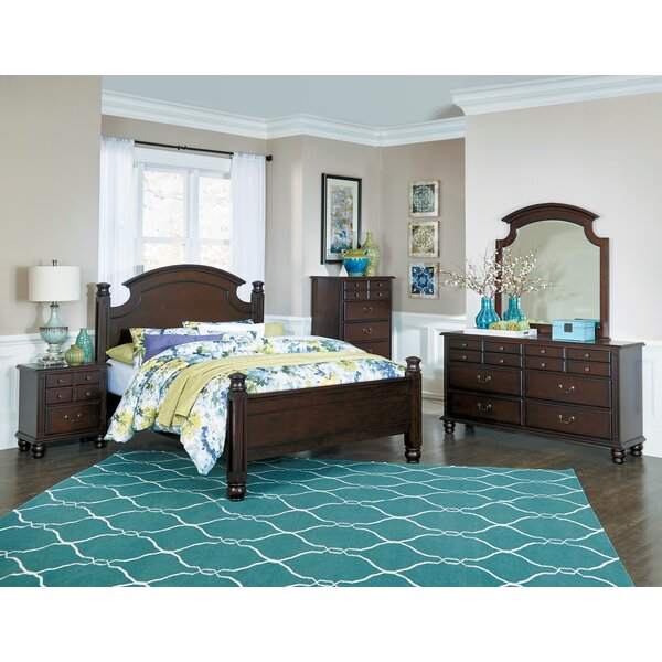 Lonoke Panel 5 Piece Bedroom Set by Charlton Home