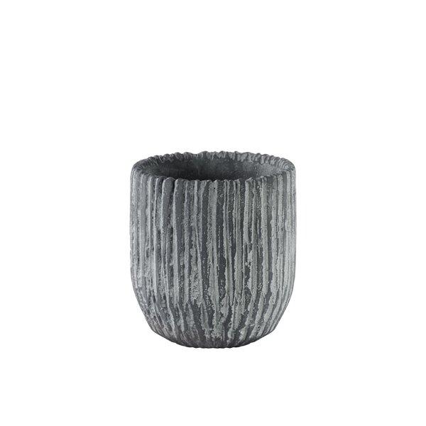 Burcham Round Cement Pot Planter by Union Rustic