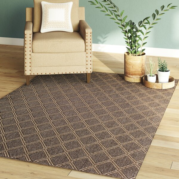 Annica Diamond Pebble/Natural Indoor/Outdoor Area Rug by Union Rustic