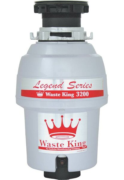 3/4 HP Garbage Disposal by Anaheim Mfg Co