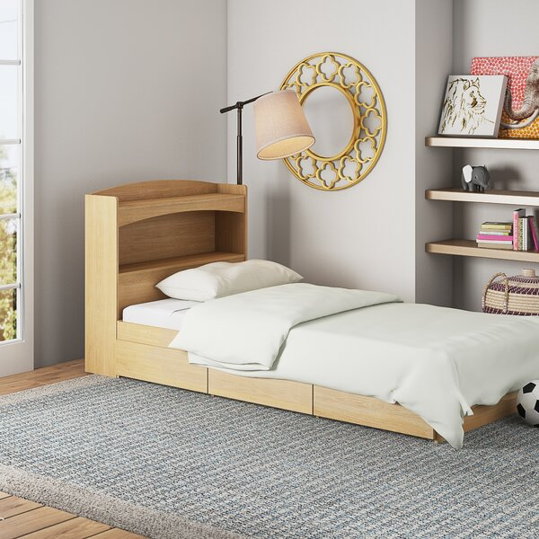 Ralston Platform Bed with Drawers and Bookcase by Mack & Milo