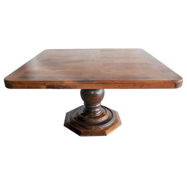 Hussain Solid Wood Dining Table by Fleur De Lis Living