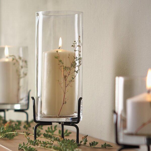 Gretel 7.25 Cylinder Glass Table Vase by Gracie Oaks