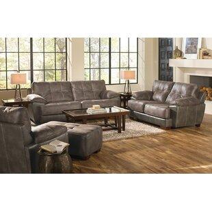Hoppe 2 Piece Standard Living Room Set by Loon Peak®