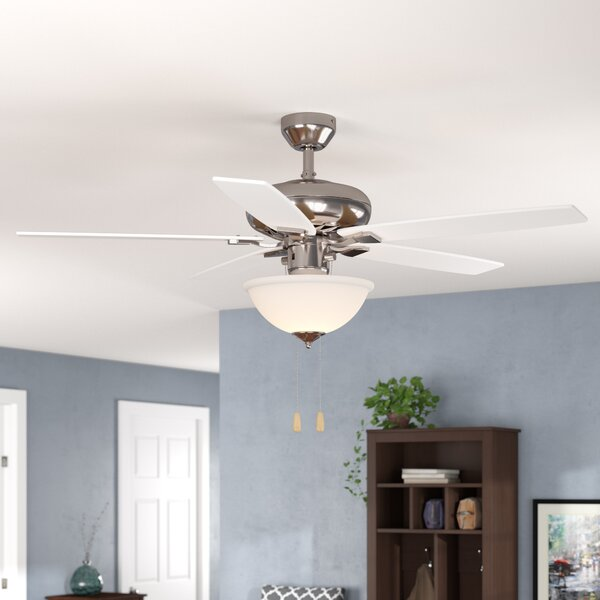 52 Redfern Indoor 5 Blade Metal Body Ceiling Fan w