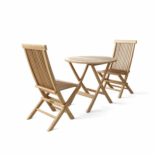 Windsor 5 Piece Teak Sunbrella Dining Set by Anderson Teak
