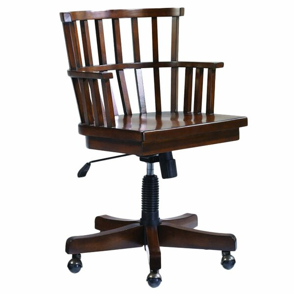 Calderwood Mid-Back Bankers Chair by Gracie Oaks