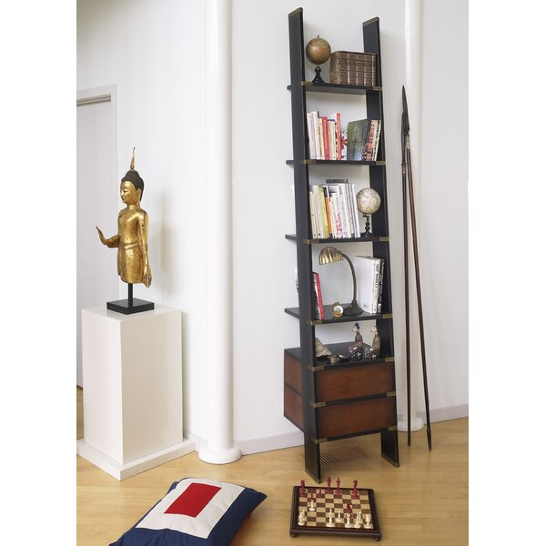 Library Ladder Bookcase by Authentic Models