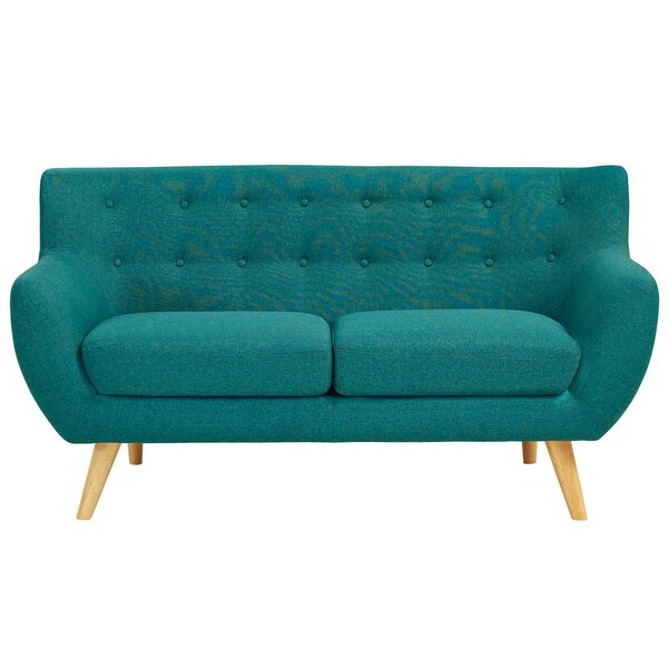 Meggie Upholstered Loveseat by Langley Street