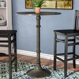 Fussell Bar Height Pedestal Dining Table