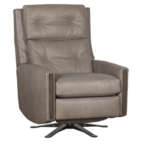 Pinehurst 3 Way Leather Manual Recliner By Fairfield Chair