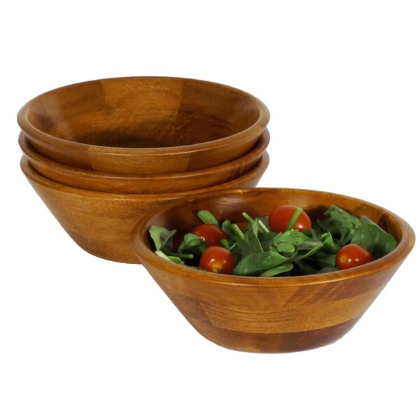 Penny Individual Salad Bowl Set (Set of 4) by Darby Home Co