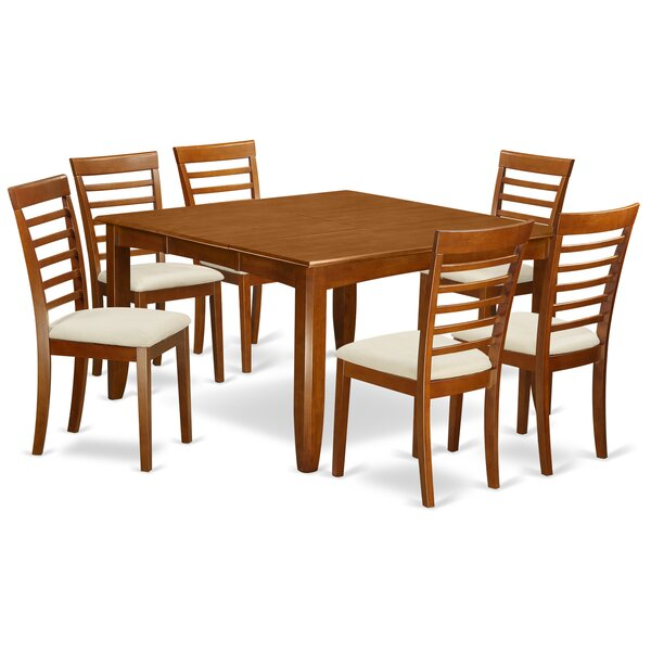 Teressa 7 Piece Extendable Dining Set by Alcott Hill Alcott Hill