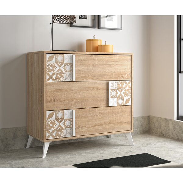Tillie 3 Drawer Dresser by Mistana