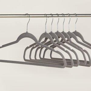 Wayfair Basics Velvet Non-Slip Hanger (Set of 50)