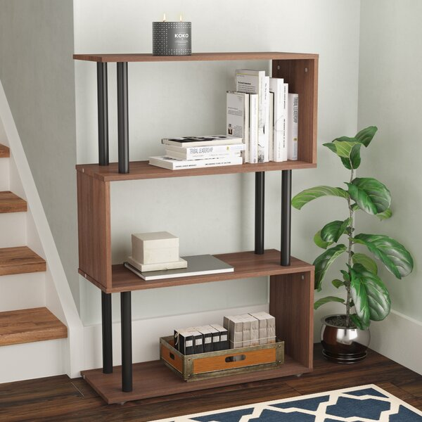 Pemberton Geometric Bookcase by Wrought Studio