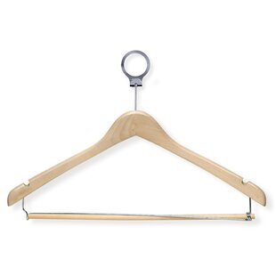 Inexpensive Hotel Suit Hanger with Locking Bar (Set of 24) By Honey Can Do