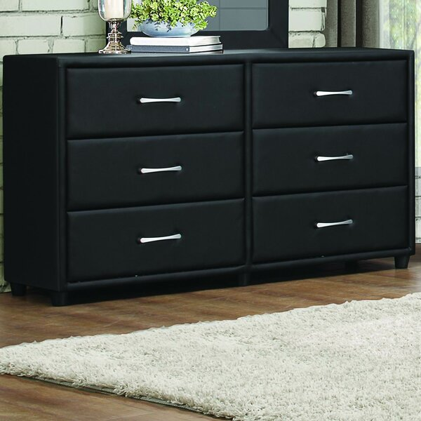 Amezcua 6 Drawer Double Dresser by Orren Ellis