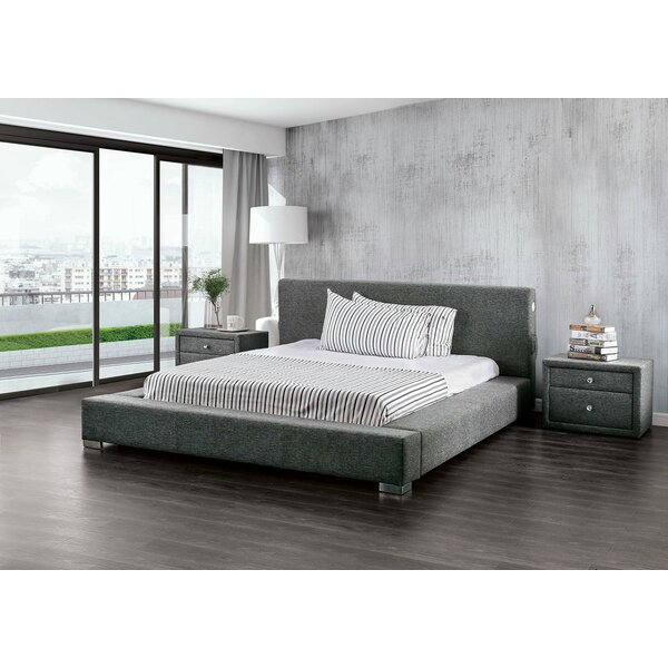 Cotswald Upholstered Platform Bed by Everly Quinn