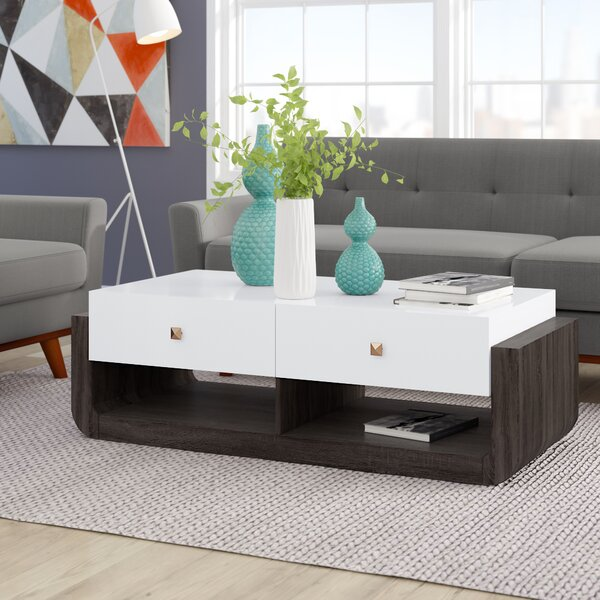 Evelyn Modern Coffee Table By Ivy Bronx