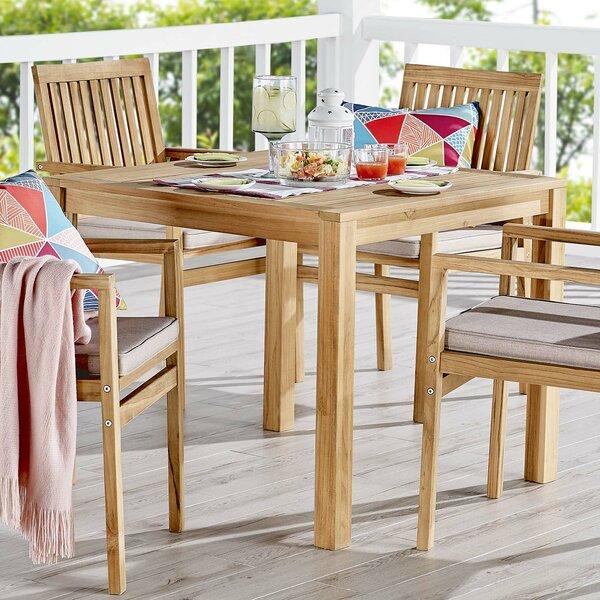 Koa 5 Piece Teak Dining Set by Rosecliff Heights