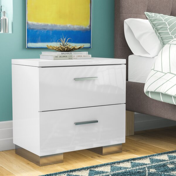 Dejohn 2 Drawer Nightstand by Latitude Run