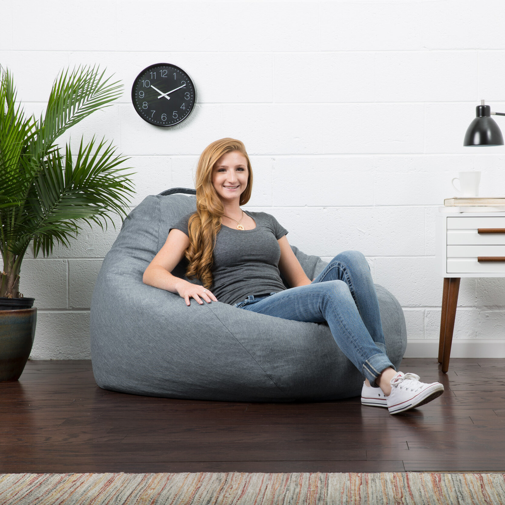Astounding Comfort Research Big Joe Lux Large Bean Bag Chair Reviews Ibusinesslaw Wood Chair Design Ideas Ibusinesslaworg