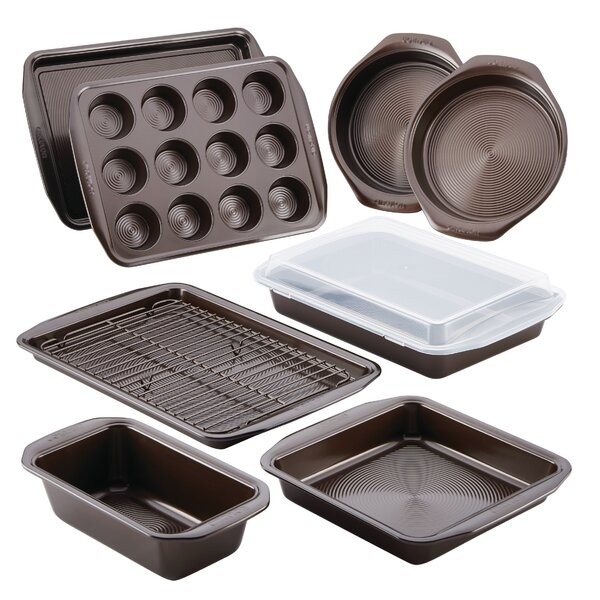10 Piece Non-Stick Bakeware Set by Circulon