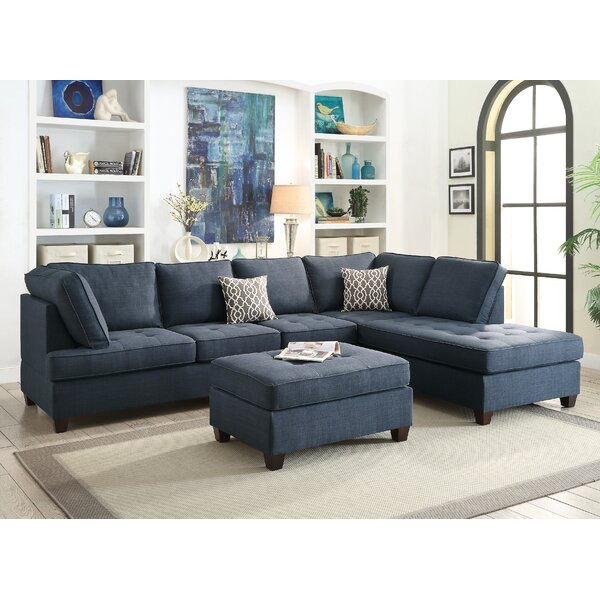Naomi Right Hand Facing Sectional By A&J Homes Studio