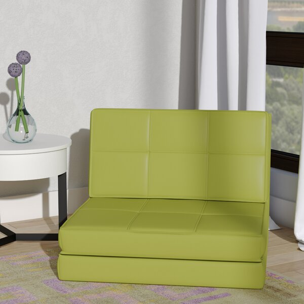 Onderdonk Convertible Chair Bed by Wrought Studio