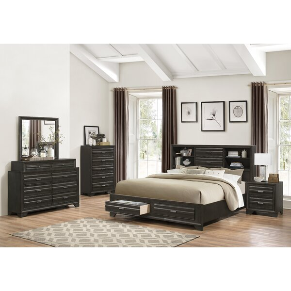 Blasco Wood 5 Piece Bedroom Set by World Menagerie