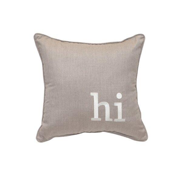 Antisha Sunbrella Indoor / Outdoor Throw Pillow