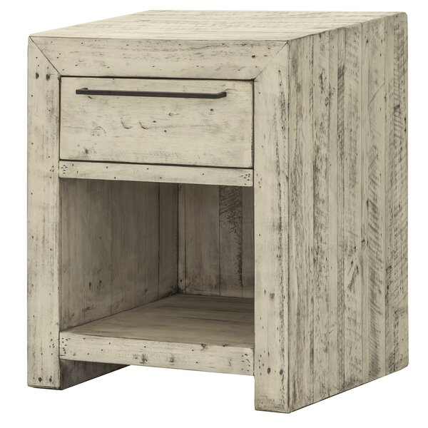 Chesterbrook 1 Drawer Nightstand by Foundry Select