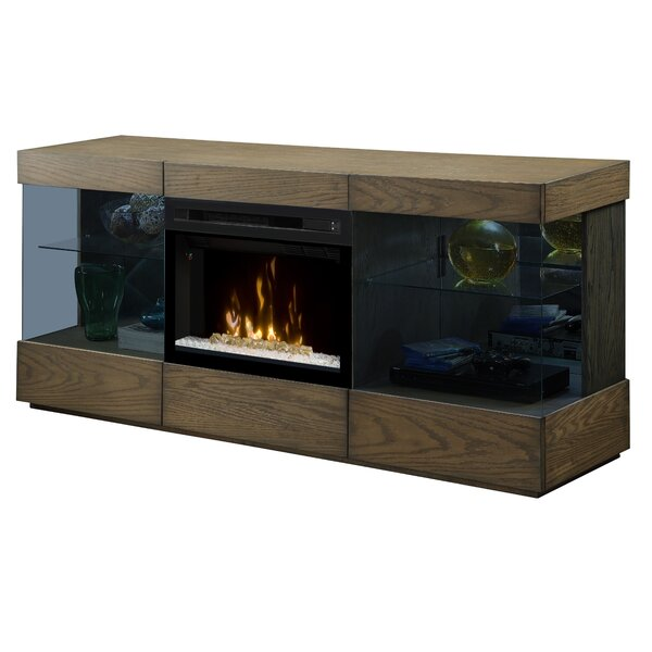 Axel 73 TV Stand with Fireplace by Dimplex