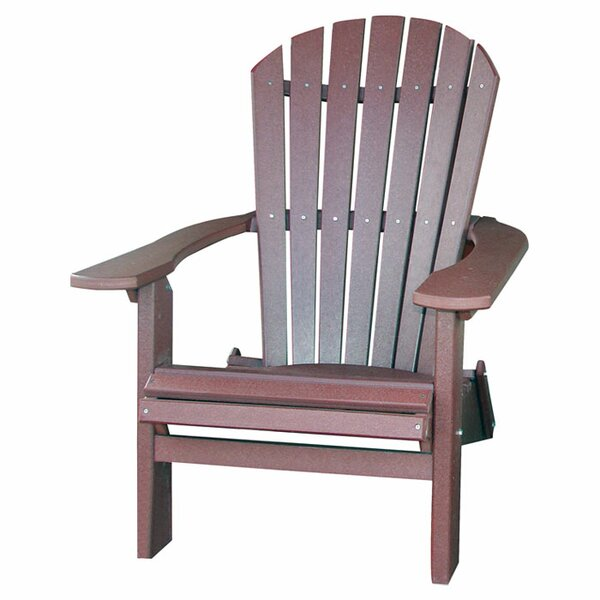 Phat Tommy Plastic Folding Adirondack Chair by Buyers Choice