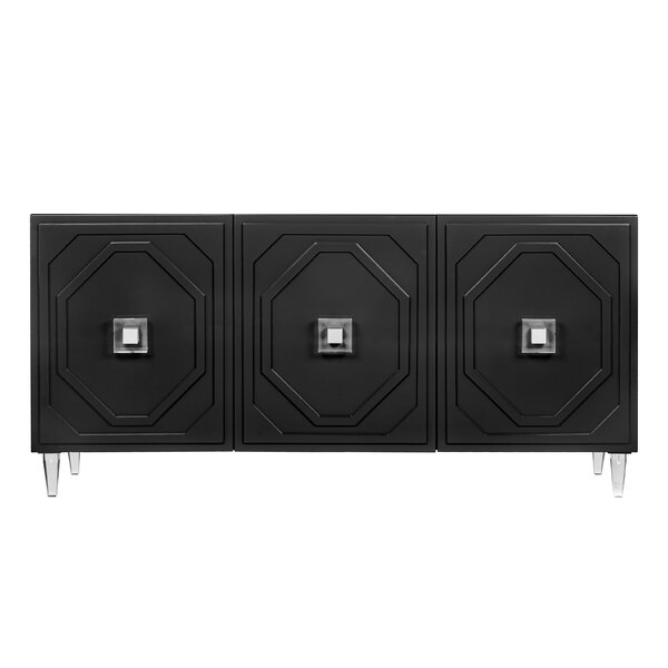 Modern Contemporary Black Lacquer Buffet Allmodern