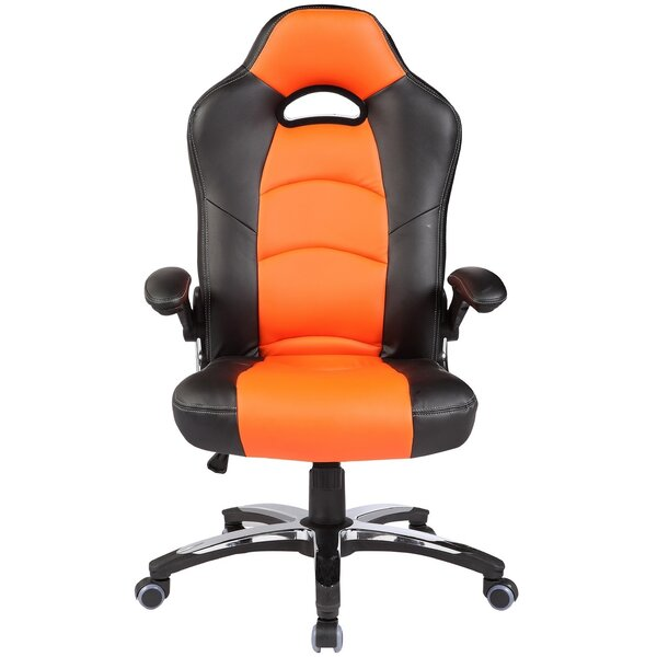 Destinie Gaming Racing Style High-Back Executive Chair by Ebern Designs