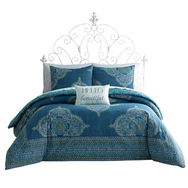 Aylin Reversible Comforter Set by Jessica Simpson Home