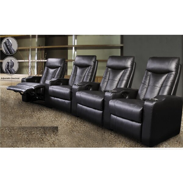 St. Helena Home Theater Row Seating (Row Of 4) By Wildon Home®
