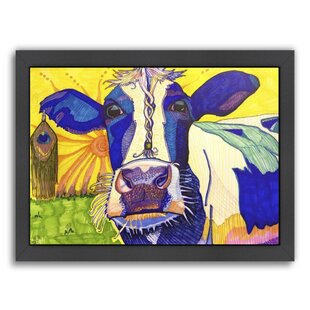 Superior U0027Hippie Cow Ashau0027 Graphic Art Print