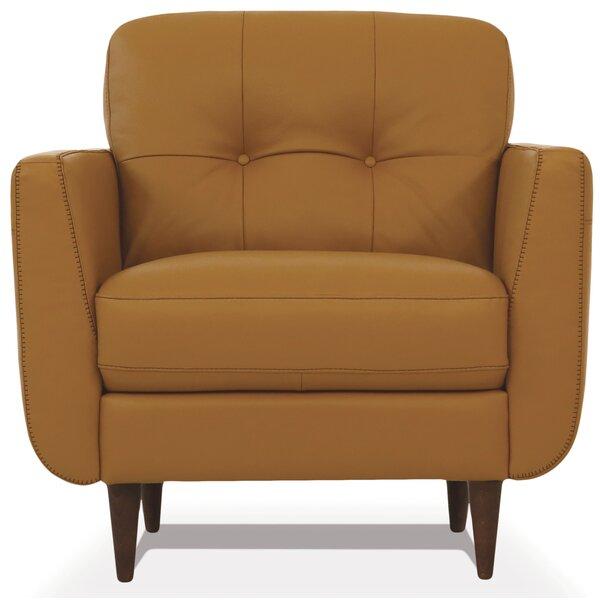 Rideout Leather Armchair by Corrigan Studio Corrigan Studio