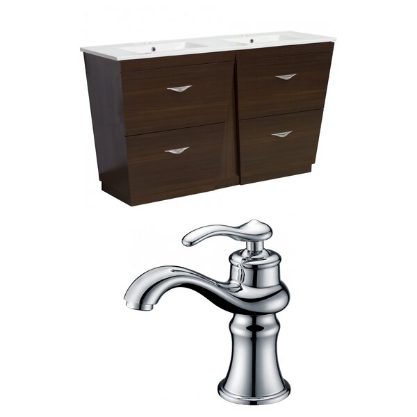 Dudelange 59 Double Bathroom Vanity Set by Royal Purple Bath Kitchen
