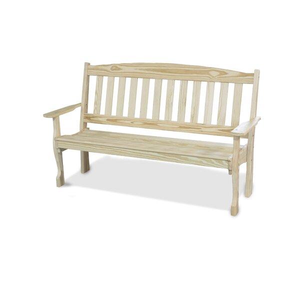 Wooden Garden Bench by YardCraft