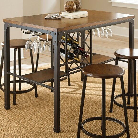 woodside counter height pub table set