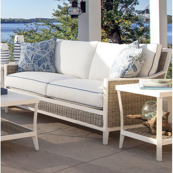 Molly Patio Sofa with Cushions by Braxton Culler Braxton Culler